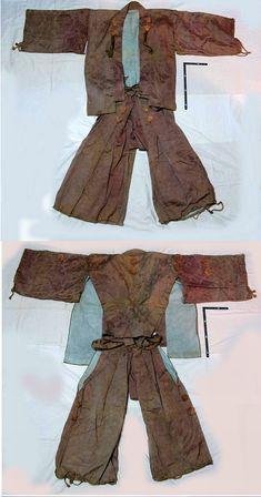 Antique Edo period samurai yoroi hitatari (under armor clothing).  http://www.samuraiantiqueworld.com/