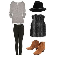 10 ways to wear a fur vest! #outfitideas #stylingtips
