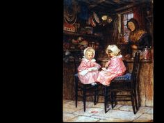 Helen Allingham, Young Customers, 1875,