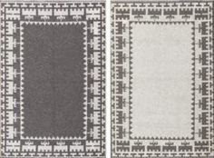 Double Sided Semi Antique Scandinavian Swedish Kilim 48606