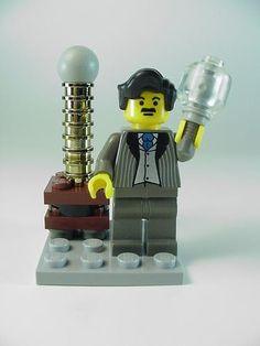 Lego Nikola Tesla