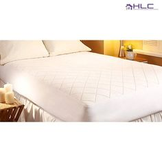 Hypoallergenic Quilted Waterproof Mattress Pad at 78% Savings off Retail!