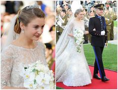 The Royal Order of Sartorial Splendor: The Luxembourg Royal Wedding: The Bride and Bridal Party