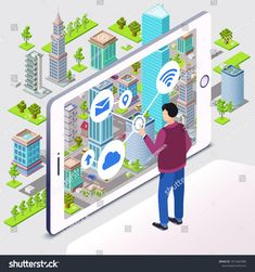 ESDS offers Smart City Hosting & Smart City Infrastructure Management Services in India. Get smart city solutions to make cities smart, connected & sustainable Best Accounting Software, Marketing Topics, Marketing Strategies, Cities, Smartphone, Facility Management, Asset Management, City Vector, Green Architecture