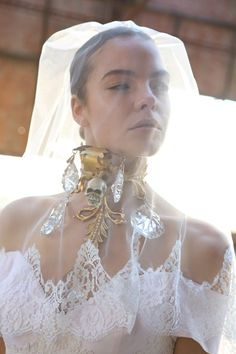 Wedding editorial: Photos: Mara Desypris Jewellery: Pericles Kondylatos Wedding Gown: Vassilis Zoulias Hair & Make-up: Manos Vynihakis