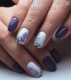 Nail designs, beautiful nail art, gorgeous nails, nail art designs, lilac n Fancy Nails, Pretty Nails, Purple Nails, Beautiful Nail Art, Gorgeous Nails, Flower Nails, Nail Arts, Spring Nails, Toe Nails