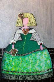 versiones meninas velazquez modernas  juanma contreras museo del prado pintura moderna contemporanea