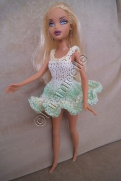 Free barbie tutorial: dress fresh and spring