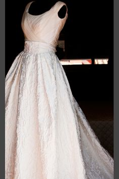 vestido de novia de Manuel de Vivar