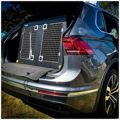 Volkswagen Tiguan (2016–Present) Dog Car Travel Crate- The DT 1 About the VW TIGUAN (2016–Present) Dog Car Crate- The DT 1 Our DT 1 model DT Box is the perfect Dog Car Crate for the Volkswagen Tiguan. The DT 1 is a great box for medium sized jeeps, with enough room for two Labradors or similar sized dogs. It comes with a removable divider which frees up more space if you need it for larger dogs. The box is made from a super tough lightweight plastic and to make this easy to clean we have… Vw Tiguan 2016, Dog Travel Accessories, Pet Vet, Dog Crates, The Perfect Dog, Stainless Steel Doors, Dog Car, Labradors, Car Travel