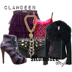 """""""Monster Style : Clawdeen"""" by missm26 on Polyvore"""