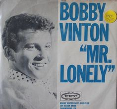 Bobby Vinton Mr. Lonely [PS] With Record! 45-rpm Record