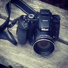 Ute och fyller på Instagramkontot i Hammarbyparken! #coolpix #instagram #fotografering