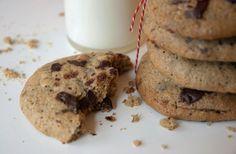 Cookies med chokolade og nødder ➙ Opskrift fra Valdemarsro.dk