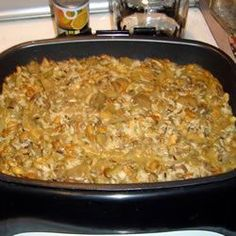 Eggplant and Mushrooms with Wild Rice - Allrecipes.com