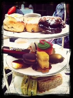 Willy Wonka Afternoon Tea, London