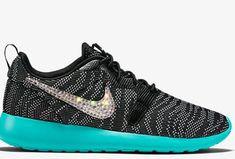 buy online 54847 08645 2018-2019 New Arrival Running Shoes Nike Roshe One Knit Jacquard Black  Light Retro Zebra