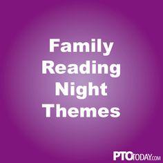 Community member ideas for Family Reading Night!