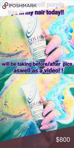 Watch it happen!! :) Wil be dying my hair today   Going to take before and after pictures   And recording a tutorial  video   No bleach !! Purple hair !!   WATCH IT ALL HAPPEN  ;) Makeup