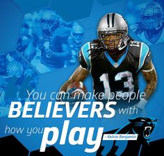 Men's Nike Carolina Panthers #13 Kelvin Benjamin Elite Black Team Color NFL Jersey