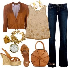 Heart Of Gold, created by mobaby22 on Polyvore