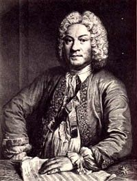 François Couperin (1668-1733)/a French composer, harpsichordist and organist. His music includes: church music including his Lecons de tenebres; chamber music including his L'apotheose de Lully and his L'apotheose de Corelli; harpsichord music; and organ music.