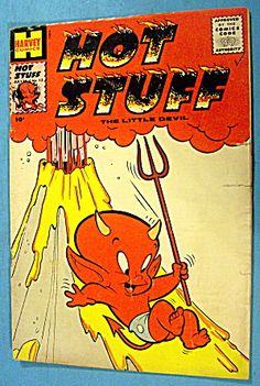 Hot Stuff Comic #13 July 1959 The Little Devil