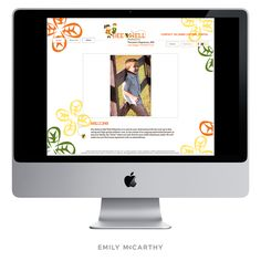 Emily McCarthy Branding | BeeWell Pediatrics Custom Website Design | www.emilymccarthy.com #branding