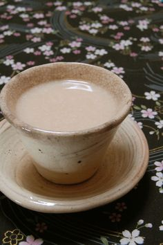 Amazake is a traditional sweet, low- or non-alcohol (depending on recipes) Japanese drink made from fermented rice.