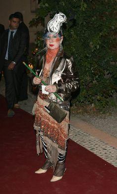 Anna Piaggi - September 2005