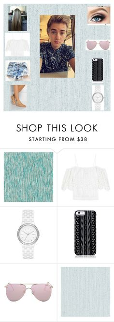 """""""Singing with Jack Johnson"""" by teenglader on Polyvore featuring Designers Guild, Ganni, DKNY, Savannah Hayes, Le Specs and Zoffany"""