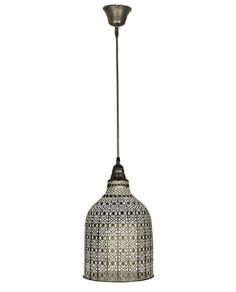 This is gorgeous and so affordable - pressed metal - the light will simply radiate and fill the room with glamour Diameter: Height: Chandelier Lamp, Pendant Lamp, Chandeliers, Lamps, Pressed Metal, French Style, French Vintage, My House, Ceiling Lights