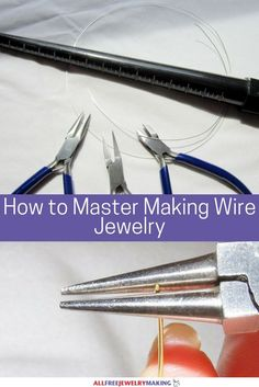 How to Master Making Wire Jewelry | You cannot miss out on these amazing tips, tricks, and techniques for crafting stunning wire jewelry projects!