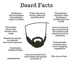 Funny pictures about True Beard Facts. Oh, and cool pics about True Beard Facts. Also, True Beard Facts photos. Gentleman Stil, Gentleman Fashion, Fitness Lady, Man In Love, My Love, Just In Case, Just For You, Beard Love, Man Beard