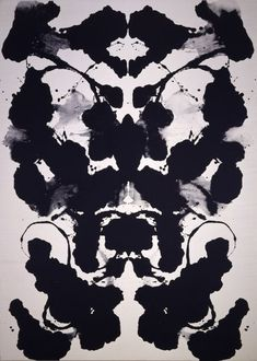 """Rorshach Warhol...HUGE painting that has incredible presence....saw it today """"in person"""" and it really made an impression.  Guess I'll pin it on this board since I kinda wish I had it."""