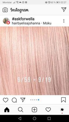 10 grm a Hair Chart, Chestnut Hair, Hair Colour Design, Schwarzkopf Hair, Hair Color Formulas, New Hair Do, Hair Color Techniques, Thing 1, Pink Hair