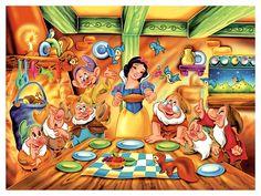 ✶ Snow White & The Seven Dwarfs ★