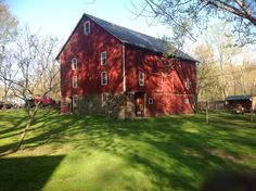 Bucks County Red Barn