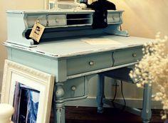 color ideas to repaint my vintage desk