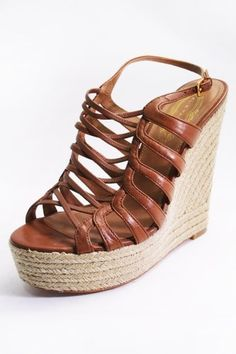 AJM Fashions: Elie Tahari Womens Butterscotch Brown Weaver Espadrille Wedge Sandals  Price : $194.00 http://www.ajmfashions.com/Tahari-Womens-Butterscotch-Espadrille-Sandals/dp/B00E1R3EB0