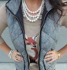 Vest- I need to just buy the j crew one and stop obsessing
