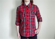 Five Ways to wear a Plaid Shirt
