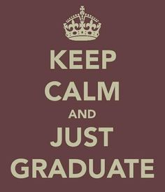 Keep calm and just graduate with a good GPA and ACT score :) next year for me!
