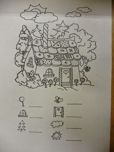 hansel si gretel coloring pages - photo#21