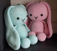 New Crochet Patrones Gratis Amigurumi Haken Ideas Crochet Baby Toys, Easter Crochet, Cute Crochet, Crochet Animals, Animal Knitting Patterns, Crochet Dolls Free Patterns, Knitting Projects, Crochet Projects, Crochet Bunny Pattern