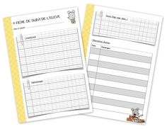 Le journal de la maîtresse version 2015 - 2016 Teaching French, Teaching English, Organisation Administrative, Teachers Corner, School Classroom, Cursive, Preschool, Bullet Journal, Chart