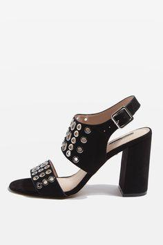NADIA Eyelet Sandals - Sandals - Shoes - Topshop USA