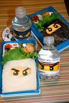 ninjago food idea. Better and cuter alternative to pizza