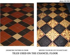 Tile Patterns and Styles | In Focus 29: Church Restorations 4