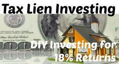 Invest in real estate without the hassles of real estate #investing! Learn how to make money through tax lien investing - the other kind of real estate investing.